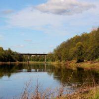 Мост через Ловать, Холм