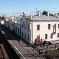 Чудовский вокзал., Чудово