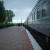 Платформа на ст. Баган, Баган