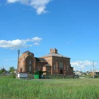 Строящаяся церковь., Барабинск