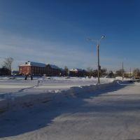 Площадь Ленина, Барабинск