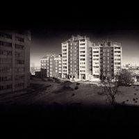 Winter in Berdsk, Бердск