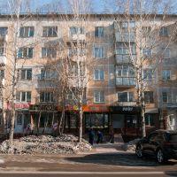 Бесчисленные магазины на Ленина., Бердск