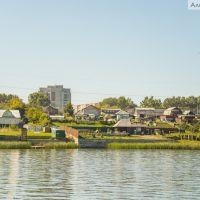 Окраины Бердска, дома у воды, Бердск