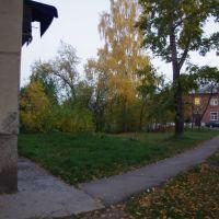 Пионерская 12, угол за домом., Бердск