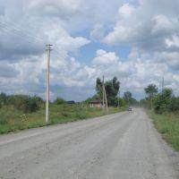 Дорога как везде,гравий, Болотное