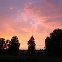 Sunset in Vengerovo, Венгерово