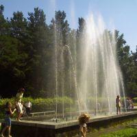 Фонтаны в парке им. Каратеева, Искитим