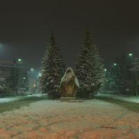 Комсомольская площадь, Искитим