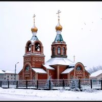 Храм Андрея Перврзванного, Карасук