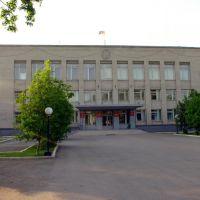 Контора администрации Карасукского района, Карасук
