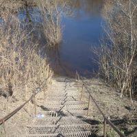Спуск к реке, Каргат
