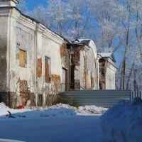 Новосибирская обл., Колывань. Этот храм пытаются восстановить, Колывань