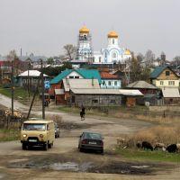 Колывань. Вид на Собор Александра Невского с Бол. Оёша, Колывань