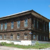 старый деревянный дом, Колывань