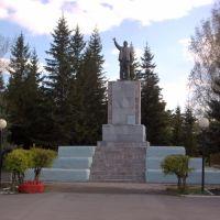 Краснозёрка. Памятник Ленину., Краснозерское