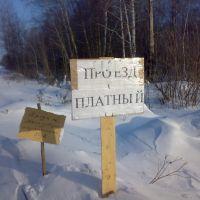Платный зимник, Крутиха
