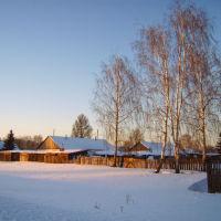 русская зима, Кыштовка