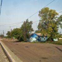 о.п. Кабинетное, вид на запад, 2006 г., Михайловский