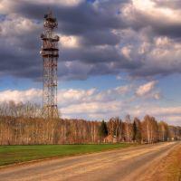 Радио-релейная вышка у Мошково, Мошково