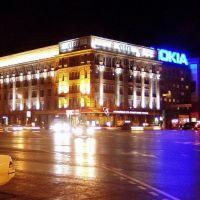 Площадь Ленина, архитектурная академия, Новосибирск