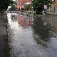 [Russia, Novosibirsk,Summer, Morning, Sovetskaya Str. /Россия, Новосибирск, Лето, Утро, улица Советская], Новосибирск