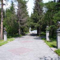 Середина аллеи, Ордынское