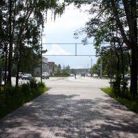 Вид на центр Ордынска, Ордынское