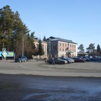 площадь администрации, Ордынское