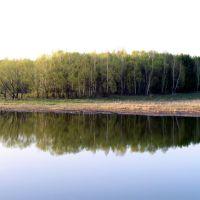 р. Орда, весна (Ордынское, Новосибирская область), Ордынское