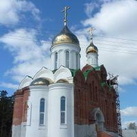 Храм в лесах, но уже действует!, Ордынское