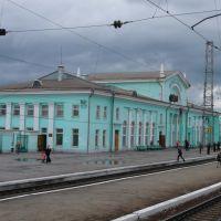 Gare de Tatarskaïa, Russie - Mai 2007, Татарск