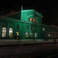 Gare de Tatarskaïa, Russie - Décembre 2008, Татарск
