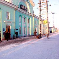 Ж/Д станция Татарская, Татарск