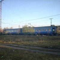 Электропоезд Тогучин-Белово на ст. Тогучин, Тогучин