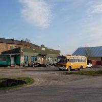 Убинское, автовокзал, Убинское