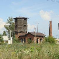 Транссиб, водонапорные сооружения на станции Убинская, Убинское