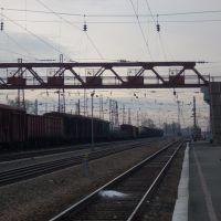 Вторая платформа, Вид в сторону Барнаула, Черепаново