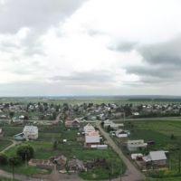 Восточная панорама Черепаново с заброшенного элеватора (лето 2010), Черепаново