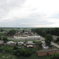 Западная панорама Черепаново с заброшенного элеватора (лето 2010), Черепаново