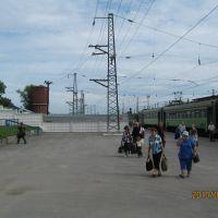 На станции, Черепаново