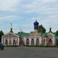 Строящийся храм, Черепаново