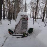 Памятник погибшим воинам в Афгане и Чечне, Черепаново