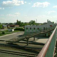 мост через ж/д, Чистоозерное