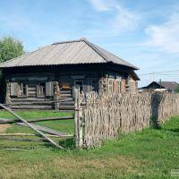 Дом ямщика Копьева, 1790 год, Большеречье. The house of coachman Kopeva, 1790, Village Bigrivers, Omsk area, Большеречье