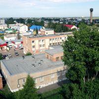 """Большеречье, Омская область, гостиница """"Русь"""" (вид сзади), Большеречье"""