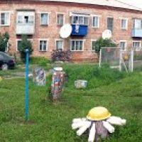 Большеречье, Омская область, двор. Bolshereche, Omsk area, a court yard, Большеречье