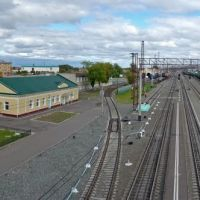 Железная Дорога, Railroad, Eisenbahn, Исилькуль
