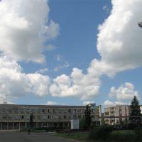Isilkuls central square (Центральная площадь Исилькуля), Исилькуль