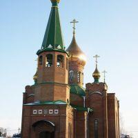 Церковь в новом микрорайоне, Калачинск